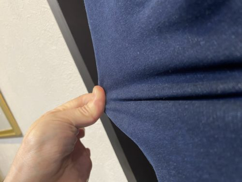 伸びるストレッチ素材のジャケット